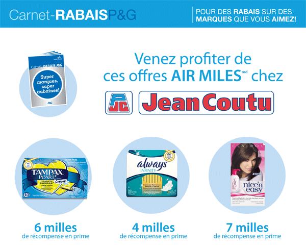 Iris coupon rabais air miles