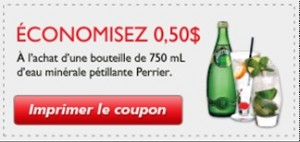 Perrier coupons