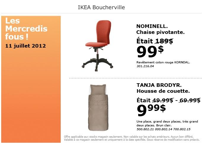 ikea les mercredis fous 11 juillet 2012 smart canucks fran ais. Black Bedroom Furniture Sets. Home Design Ideas