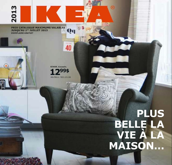 Ikea le nouveau catalogue est arriv smart canucks for Ikea coupon imprimable