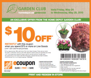 Club de jardinage home d p t 10 de r duction sur 75 d achat smart canucks fran ais - Coupon de reduction office depot ...