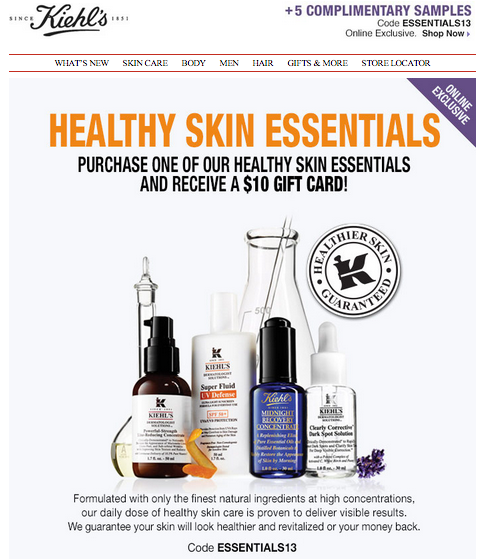 Kiehl S Gift Card Codes - Gift Ftempo